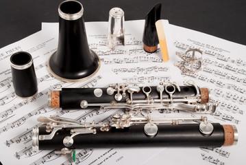 clarinet in parts