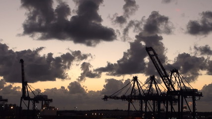 Bahamas - Freeport - Industrial Port - Container Terminal