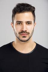 Beautiful latin man