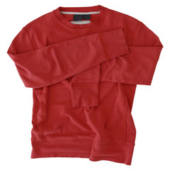 used vintage red sweatshirt