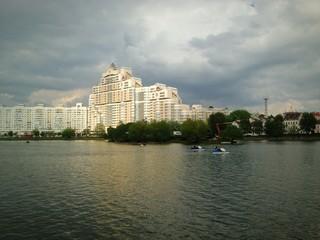 река Свислоч, Минск, Беларусь