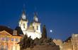 Church  Mother God Týn      Old Town  Prague, Czech Republic