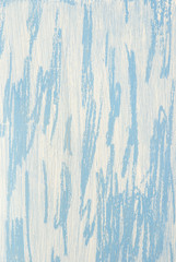 Light blue and white wooden background