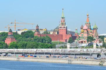 Москва сегодня, Кремль. собор Василия Блаженного