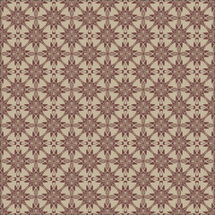 Vector images, flowers, brown tones.