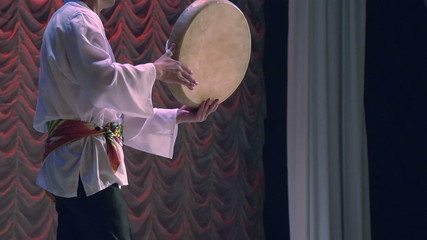 Central Asian Traditional Drum