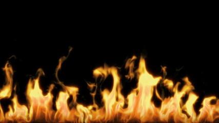 язык  огня