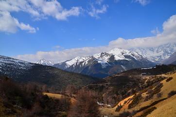 Himalayas Mountain Range in Yunnan, China