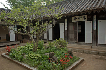 Traditional architecture, Suwon, Korean Republic