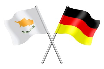 Flags : Cyprus and Germany