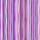 Fototapeta Seamless vector pattern - hand drawn bright stripes and waves