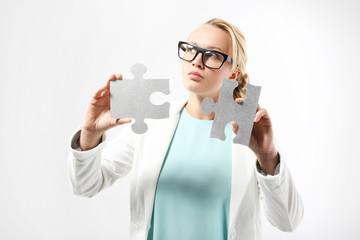 Srebrne puzzle - rozwiązanie problemu