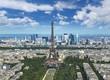 Tour Eiffel depuis la Tour Montparnasse Paris