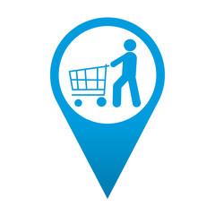Icono localizacion simbolo cliente