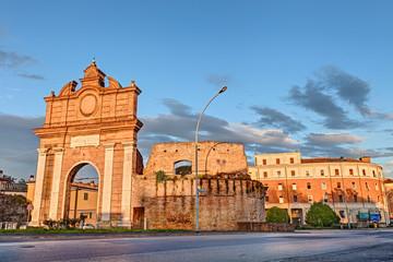 city gate in Forli', Emilia Romagna, Italy