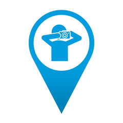 Icono localizacion simbolo paparazzi