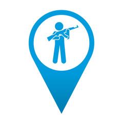 Icono localizacion simbolo cuartel