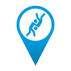 Icono localizacion simbolo judo