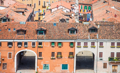 Driveway Portals in Venice Buildings