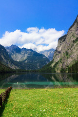 Lake in Bavarian Alps