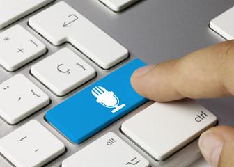 Blue Microphone. Keyboard