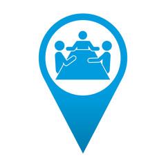 Icono localizacion simbolo sala de reuniones