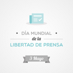 World Press Freedom Day in Spanish