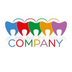 логотип зубы