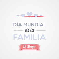 International Family Day in Spanish