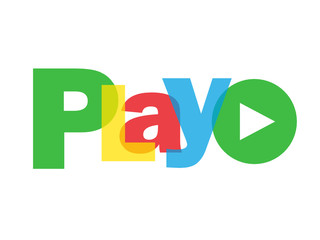 """PLAY"" (launch video watch live view button icon key click here)"