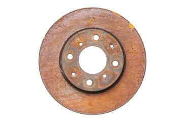 Rust brake discs