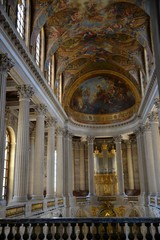 Hall in the palace in Versailles