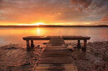 Sunset at Green Point NSW Australia