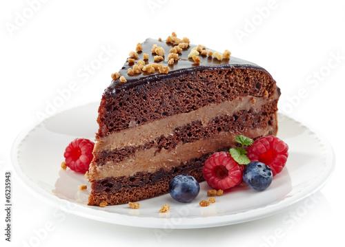 Chocolate cake - 65235943