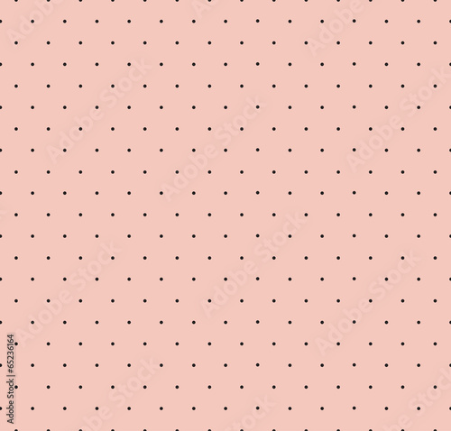 Tuinposter Stof Polka Dot Seamless Pattern