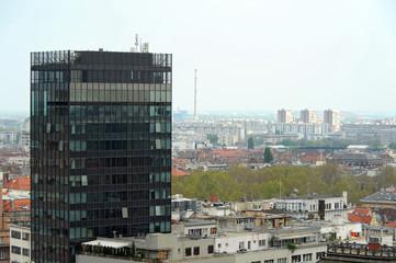 Ansicht des modernen Zagreb