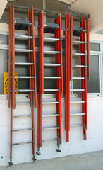 ladders for professional assistance during repairs