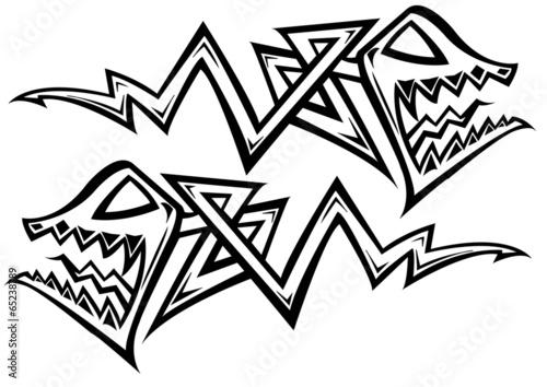 Fish tattoo - 65238789