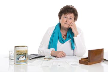Rentenkürzung: Geld reicht nicht zum Lebensunterhalt.