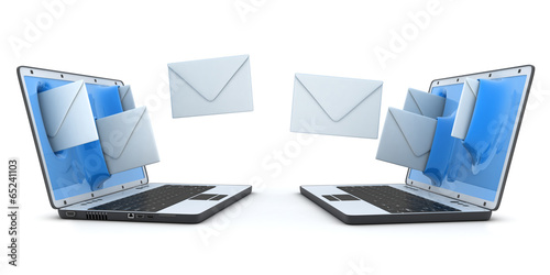 Laptop and fly envelopes - 65241103