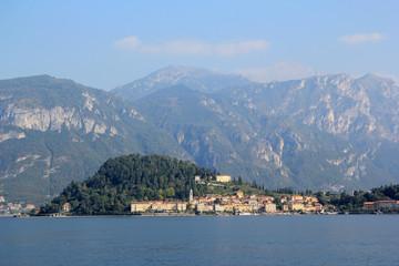 Bellagio sur le lac de Côme en Italie