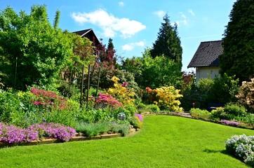 bright gorgeous garden
