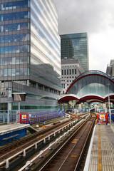 London, Canary Wharf DLR station