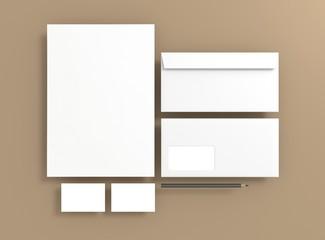 Corporate Material Stift Hintergrund braun