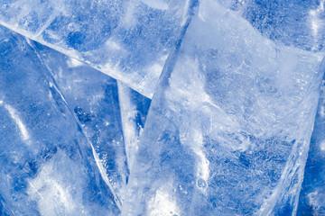 background of ice