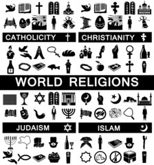 Icons for World Religions