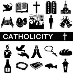 Icons for catholicity
