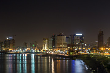 Tel-Aviv at night