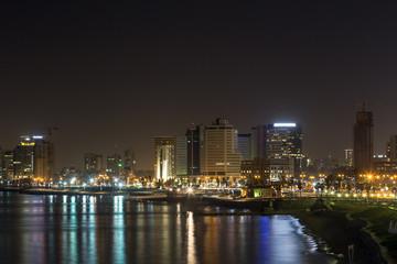 Tel-Aviv at night