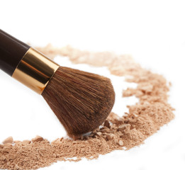 Isolated make-up powder